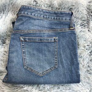 Torrid Slim Bootcut High Rise Jeans Medium Wash